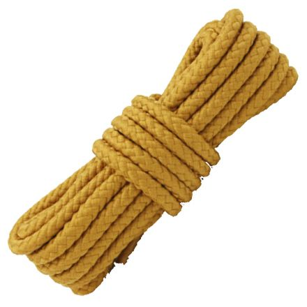 Light Brown Round Solid Shoelace / Bootlace Diameter: 5mm
