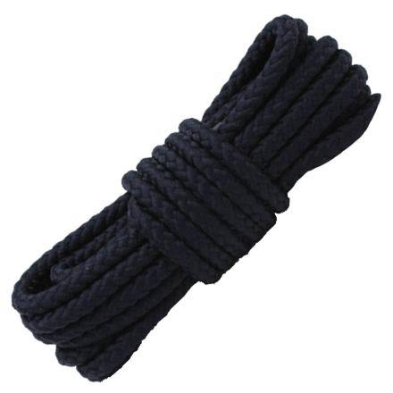Navy Blue Round Shoelace