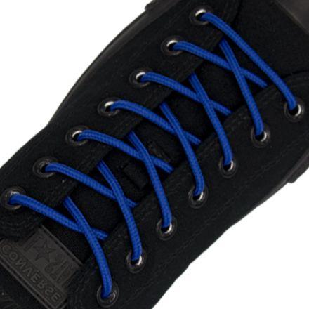 Polyester Shoelace Round - Royal Blue Length 120cm Diameter Ø4mm