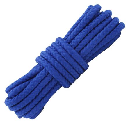 Royal Blue Round Solid Shoelace / Bootlace Diameter: 5mm