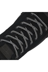 Diameter: Ø5mm   Black White Two Tone   Bootlace Shoelace