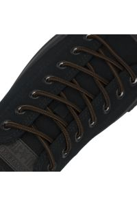 Diameter: Ø5mm   Black Brown Two Tone   Bootlace Shoelace