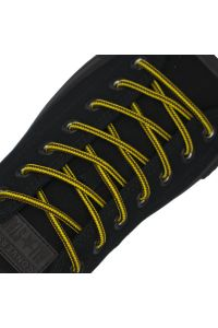 Yellow Brown Two Tone Bootlace Shoelace - Ø5mm