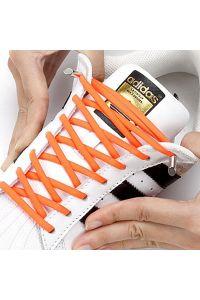 Oval Elastic No Tie Shoelaces
