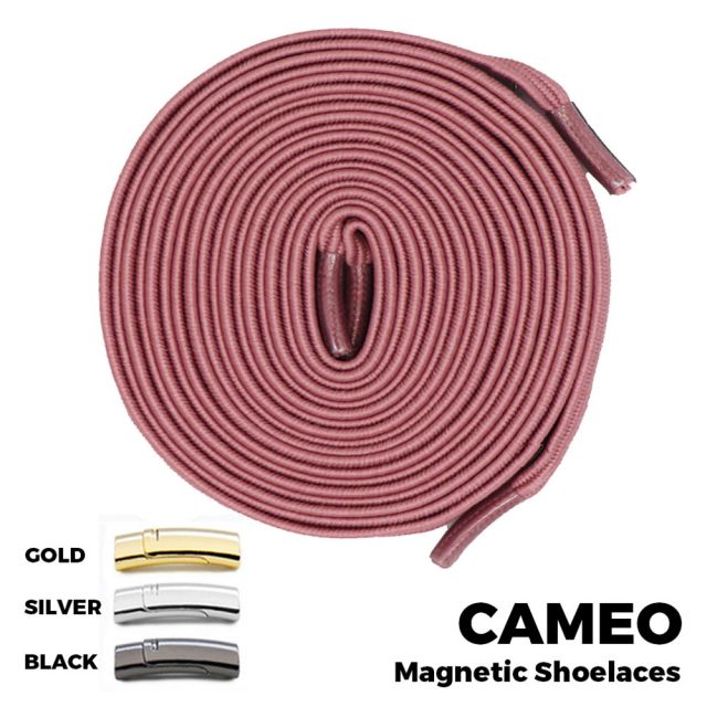 Cameo Magnetic Shoelace Lock Flat Elastic No Tie Laces
