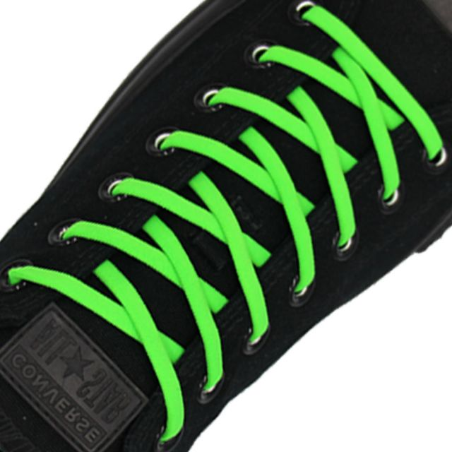 Green Elastic Shoelace - 30cm Length 5mm Diameter