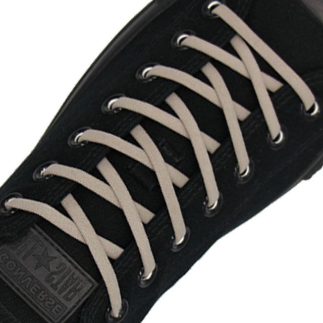 Grey Elastic Shoelace - 30cm Length 5mm Diameter